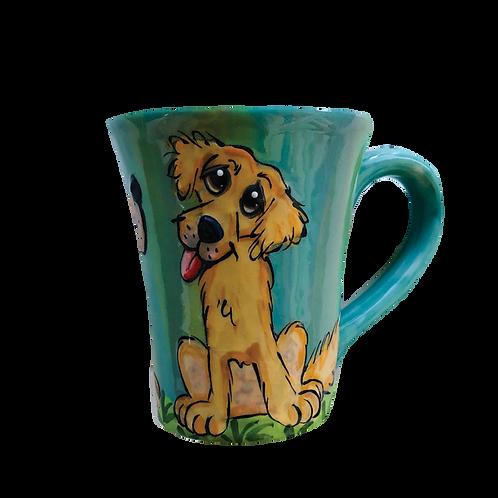 Retriever Latte Mug