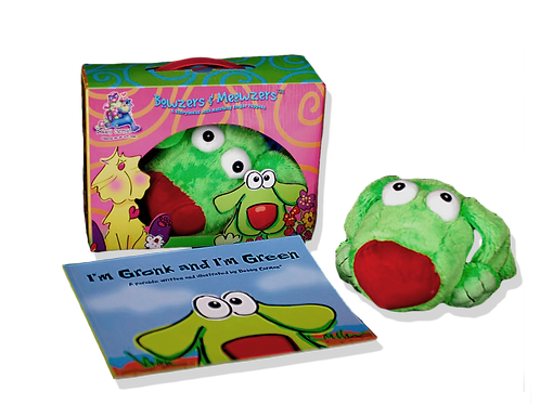 I'm Gronk and I'm Green© Book & Hand Puppet Gift Boxed Set