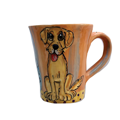 Yellow lab Mug