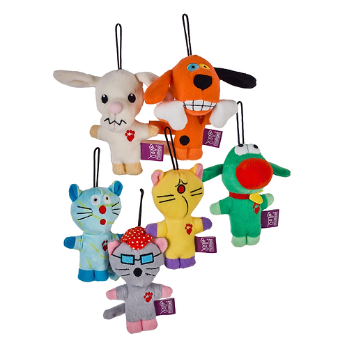 MultiPet Plush Toy Set of 3