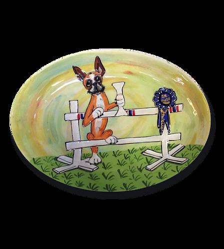 Boxer Oval Platter