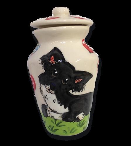 Japanese Spitz Urn