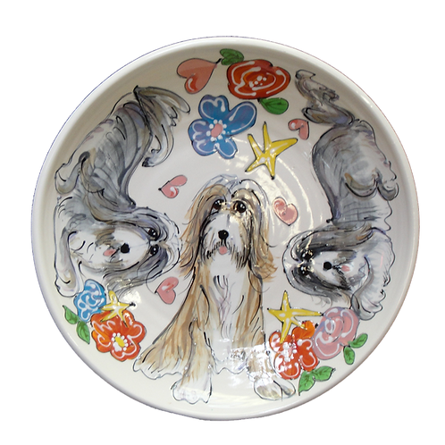 Bearded Collie Trophy