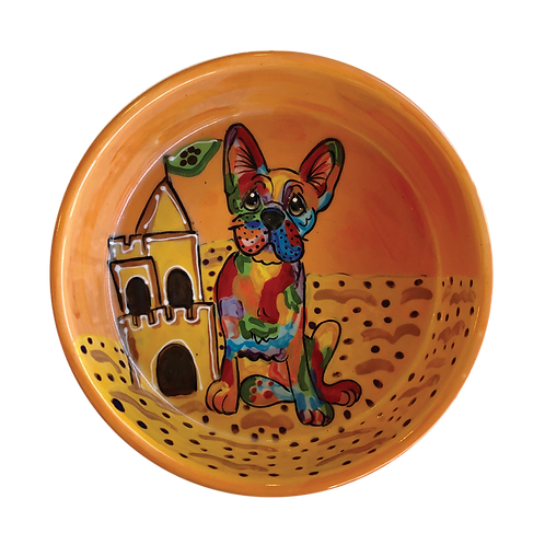 Frenchie Rainbow Palz bowl
