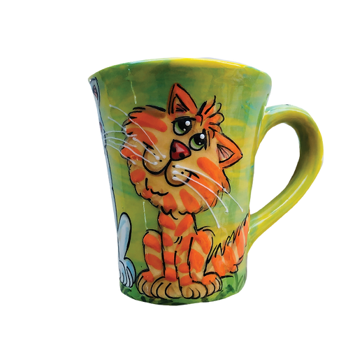 Cats Latte Mug