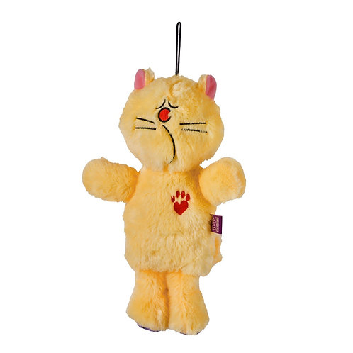 Multipet Bowzers and Meowzers™ Purrlonia Squeaky Plush Dog Toy, Large