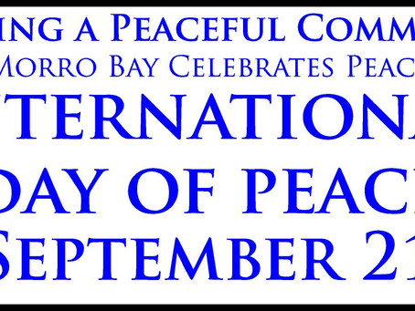 September is Morro Bay Month of Peace