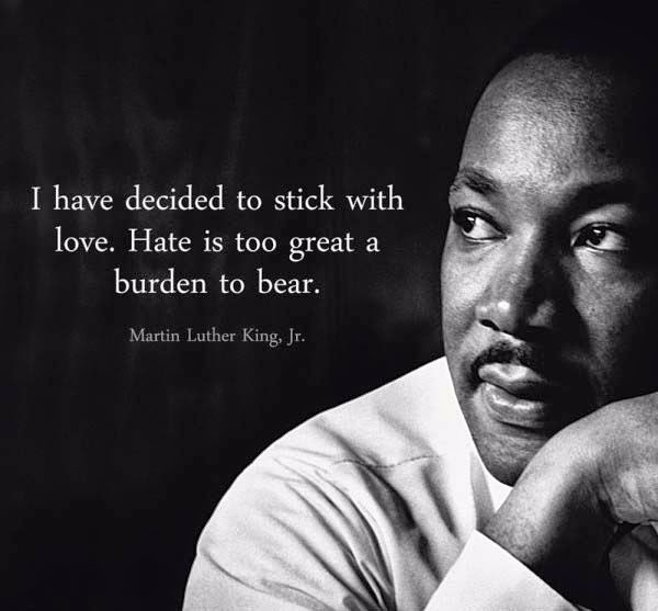 Martin Luther King Saying