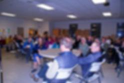 Audience at UCC John Dear Talk 3-6-2018.