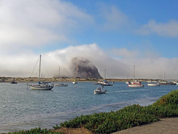 Morro-Rock-enveloped-in-fog