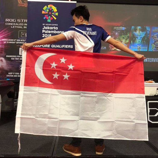 RSG REVENANT REPRESENTS TEAM SINGAPORE FOR STARCRAFT 2