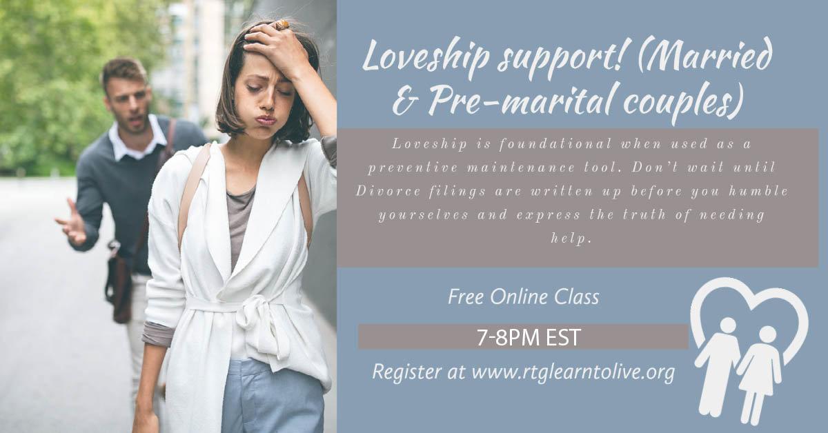 Loveship support (Married & Pre-marital)
