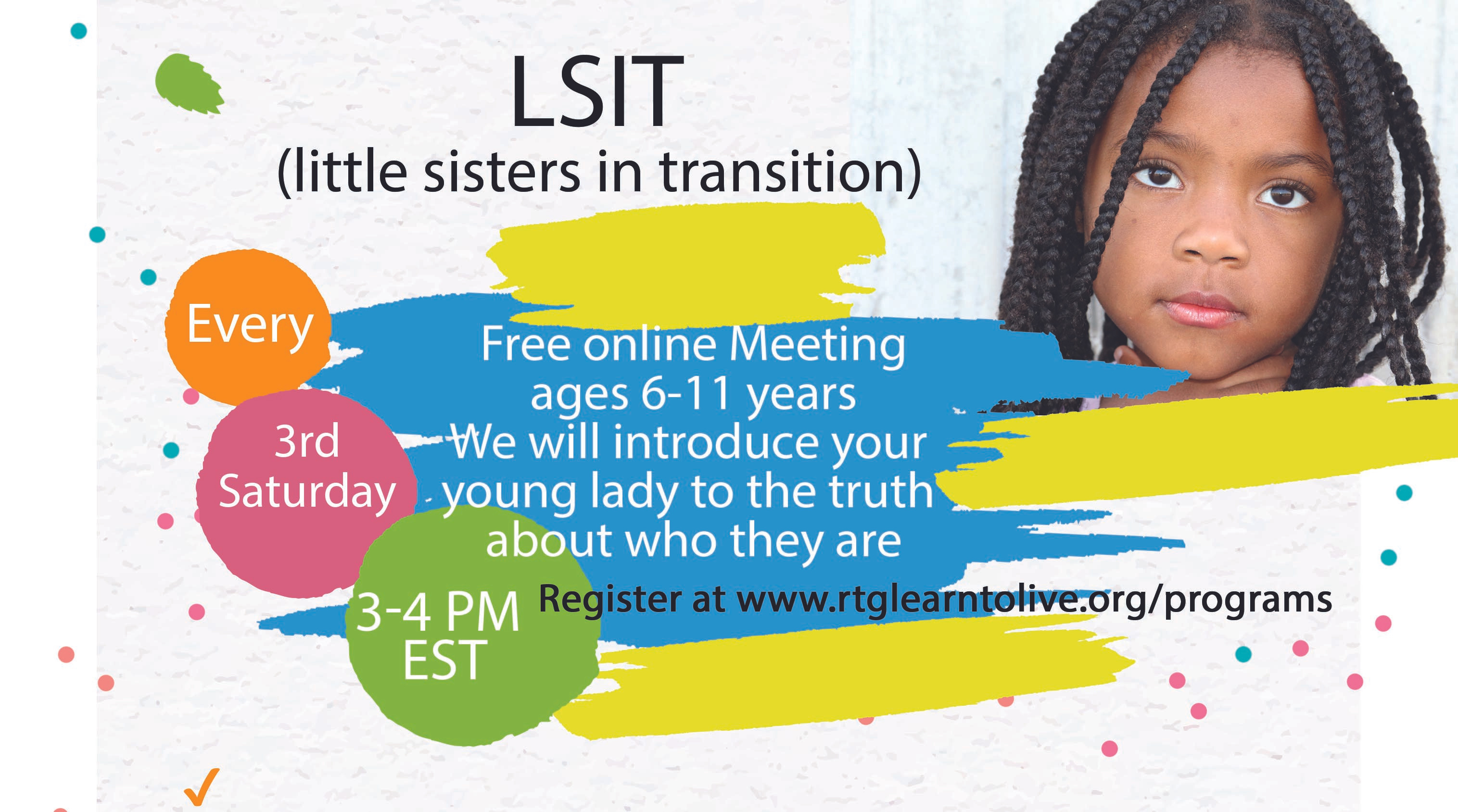 LSIT (little sisters in transition)