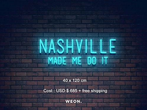 Custom Neon Sign ( Brooke Eden )