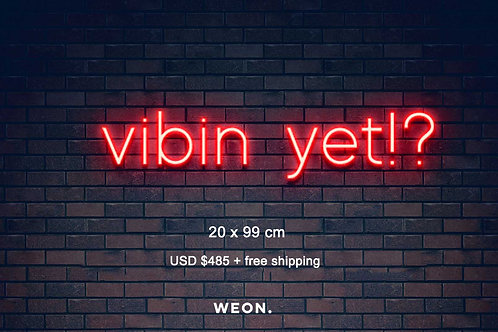 Custom Neon Sign ( Vow Burger )