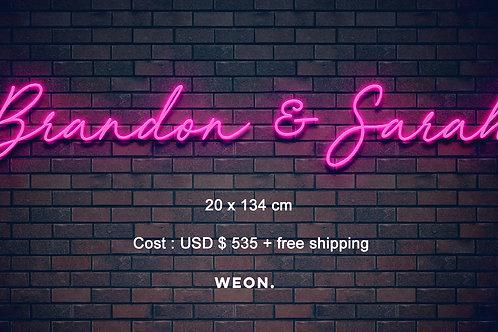 Custom Neon Sign ( Brandon Baxter )
