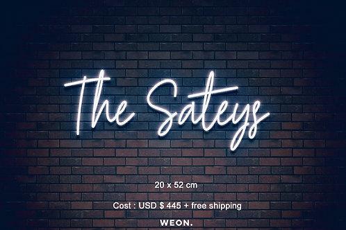 Custom Neon Sign ( seansatey )