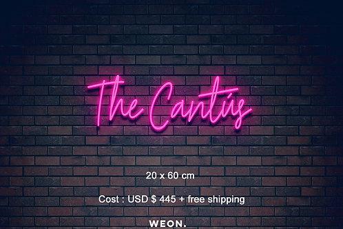 Custom Neon Sign ( Sia )