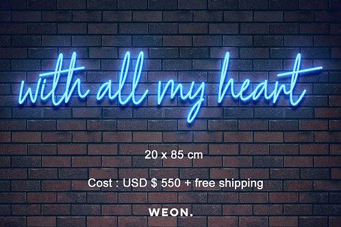 Custom Neon Sign ( Alejandra Aranda )