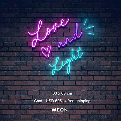 Custom Neon Sign (Brittney McLaughlin)