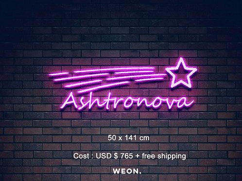 Custom Neon Sign (  Payton Sajec )