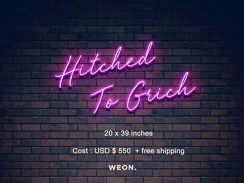 Custom Neon Sign (  Huntley Grichor )