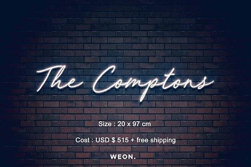 Custom Neon Sign ( Caroline Spivey )