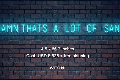 Custom Neon Sign ( Dacia Webb )