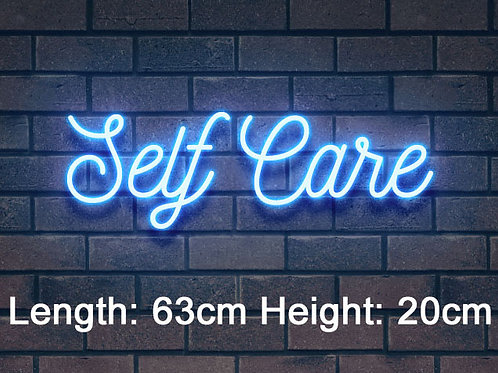 Custom Neon Sign ( Self Care)