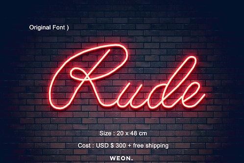 Custom Neon Sign ( Edgar Gutierrez )
