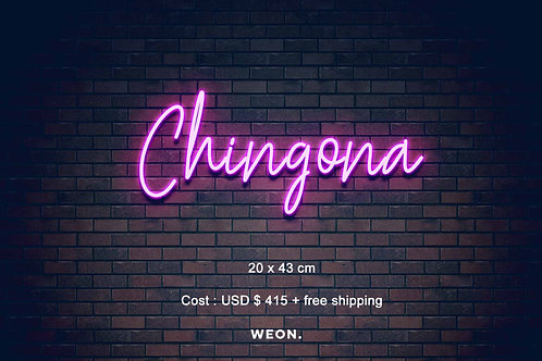 Custom Neon Sign ( Citlalli Aguilar )