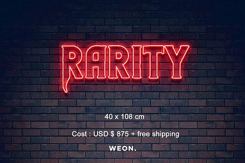 Custom Neon Sign (  Riah Rarity  )