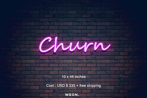 Custom Neon Sign ( Alexis Slavicek )