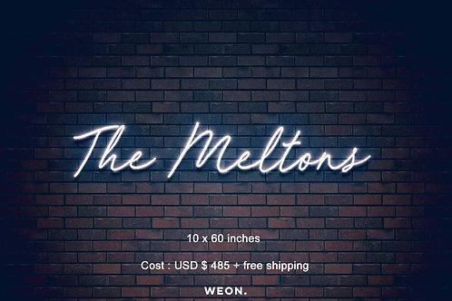 Custom Neon Sign ( Gennairo McClain )