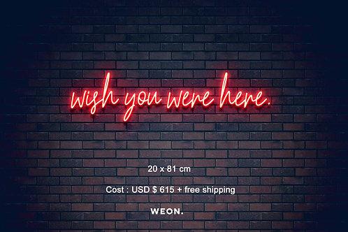 Custom Neon Sign ( Wynne Grafton )