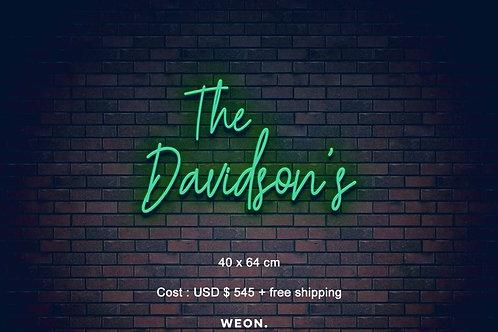 Custom Neon Sign ( Shaelyn Postmus  )