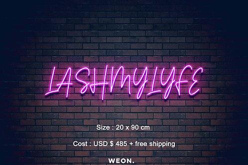 Custom Neon Sign ( Mirelys Varela - 50% payment )