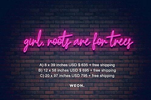 Custom Neon Sign ( Victoria Fox )
