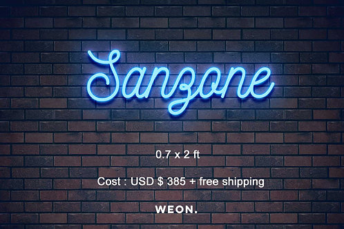 Custom Neon Sign ( AWS_ _Alex )