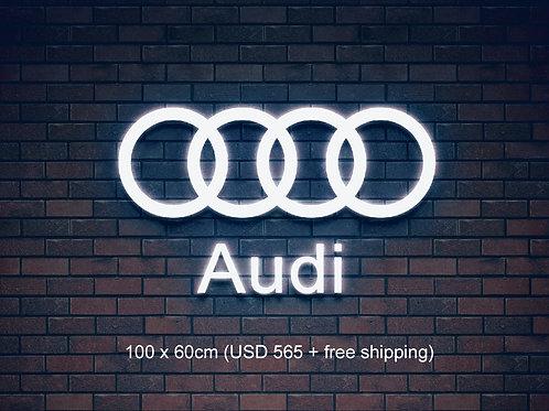 Custom Neon Sign   (Audi)