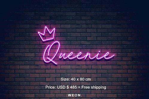 Custom Neon Sign ( Reina Guerra )