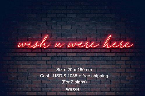 Custom Neon Sign ( Emmad Ali  )