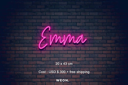 Custom Neon Sign ( Brent Conley )