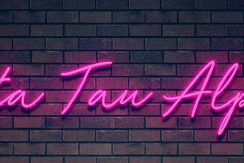 Custom Neon Sign ( Anna Fabry )