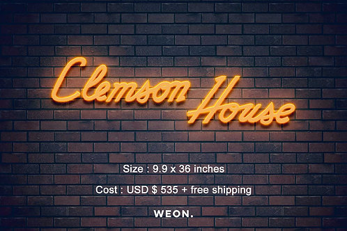Custom Neon Sign ( Benjamin Wofford )