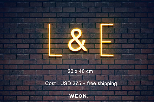 Custom Neon Sign (Leanne Coomes)