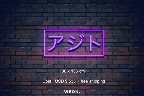 Custom Neon Sign ( Bob Kusiak )
