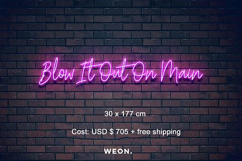 Custom Neon Sign ( Stephanie Lantz )