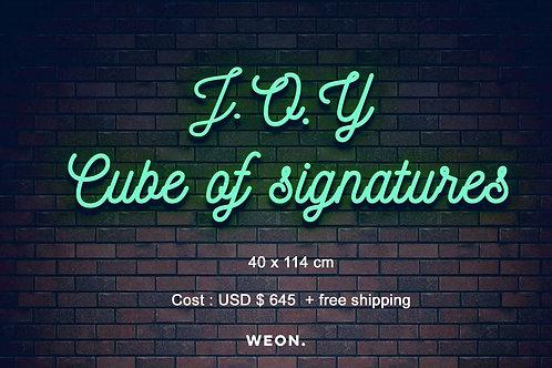 Custom Neon Sign ( Joy Navarro )