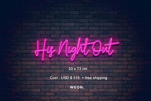 Custom Neon Sign (  Haley Wilson )